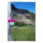 Sweet Home Of Newfoundland Greeting Card