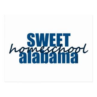 Sweet Homeschool Alabama Postcard