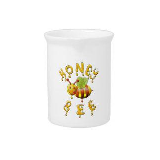 sweet honey bee beverage pitcher