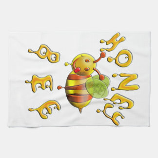 Sweet Honey Bee Kitchen Towel
