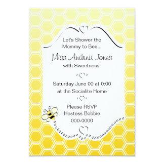 Sweet Honeycomb 5x7 Paper Invitation Card