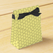 Sweet Honeycomb Honey Pattern Favor Boxes