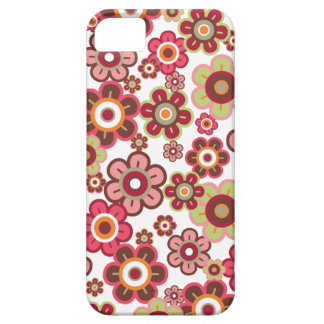 Sweet Hot Pink Candy Daisies Flowers Girly Pattern iPhone SE/5/5s Case