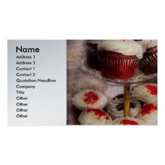 Sweet - How much is that cake in the window Business Card Templates