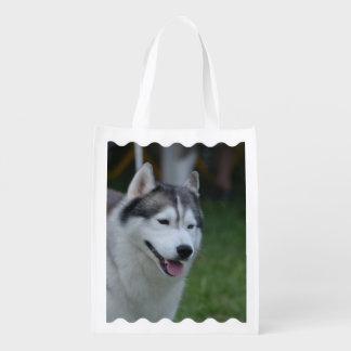 Sweet Husky Grocery Bag