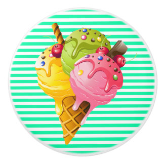 Sweet Ice Cream Drawer Pulls