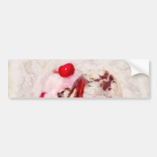 Sweet - Ice Cream - Ice cream sundae Bumper Stickers