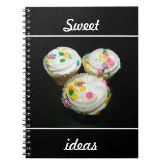 Sweet ideas spiral notebook
