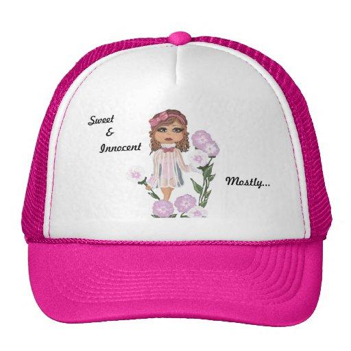 Sweet, &, Innocent Mostly... Quantum Cutie Girl Trucker Hat