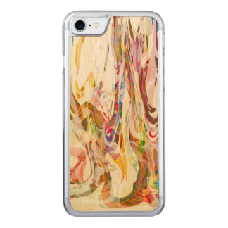 Sweet Intrigue Abstract Art Carved iPhone 7 Case