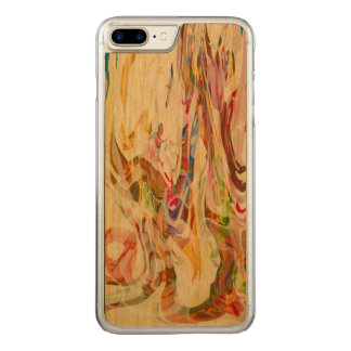 Sweet Intrigue Abstract Art Carved iPhone 7 Plus Case