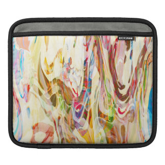 Sweet Intrigue Abstract Art Sleeve For iPads