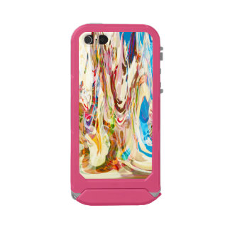 Sweet Intrigue Abstract Art Waterproof iPhone SE/5/5s Case