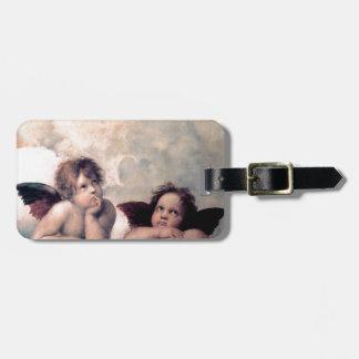 Sweet Italian Angels Renaissance Masterpiece Bag Tag