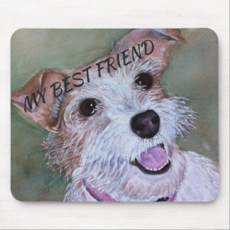 SWEET JACK RUSSELL MOUSE PAD
