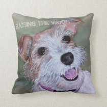 SWEET JACK RUSSELL THROW PILLOW