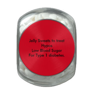 Sweet Jar to put sweets to treat Hypo Jelly Belly Candy Jar