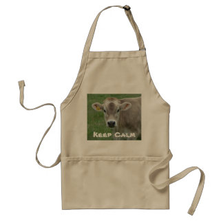Sweet Jersey Cow Adult Apron