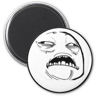 Sweet Jesus Comic Meme 2 Inch Round Magnet