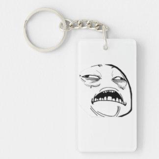 Sweet Jesus Comic Meme Keychain