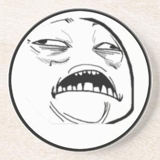 Sweet Jesus Comic Meme Sandstone Coaster