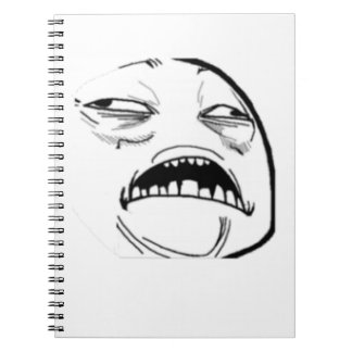 Sweet Jesus Comic Meme Spiral Notebook