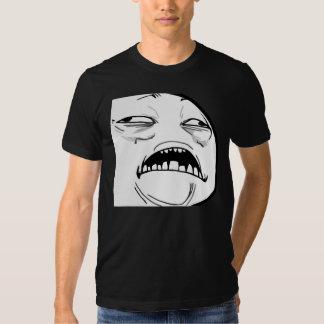 Sweet Jesus Meme - 2-sided Fitted Dark T-Shirt