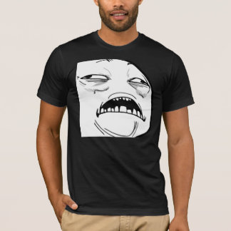Sweet Jesus Meme - 2-sided Fitted Dark T-Shirt