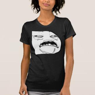 Sweet Jesus Meme - Ladies Petite Dark T-Shirt