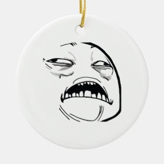 Sweet Jesus that's Good Ceramic Ornament