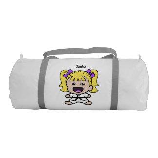Sweet Karate Girl Duffel Bag