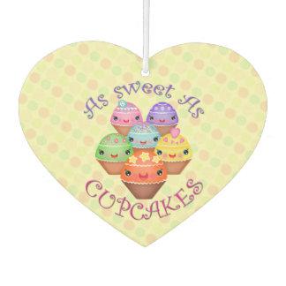 Sweet Kawaii Cupcakes Car Air Freshener