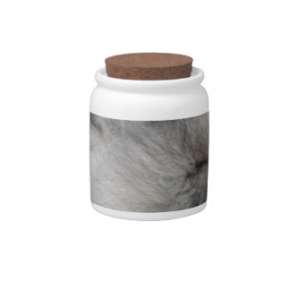 Sweet Keeshond Candy Jar