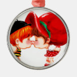 sweet kiss ornament