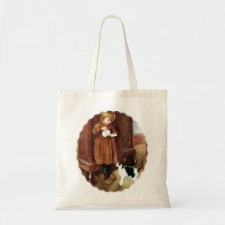 Sweet Kitten Budget Tote Bag