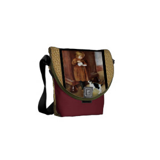Sweet Kitten Courier Bag
