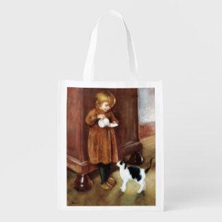 Sweet Kitten Grocery Bag