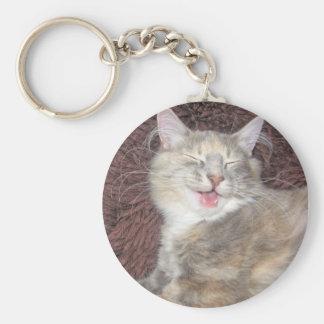 sweet kitten key chain