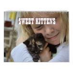 Sweet Kittens 2015 Wall Calendar