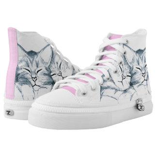 Sweet Kittens Hi-Top Sneakers