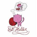 sweet kittie or rat killer photo cutout