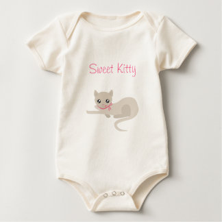 Sweet Kitty Baby Bodysuit