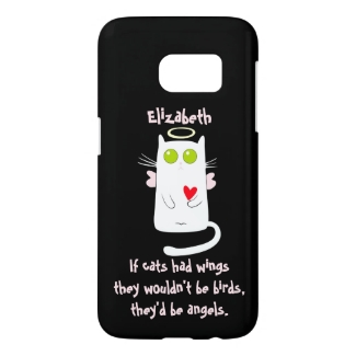 Sweet Kitty Cat Angel Custom
