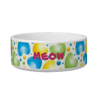 sweet kitty pet bowl