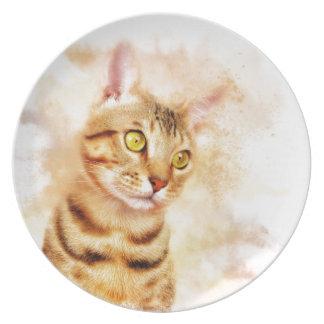 Sweet Kitty Plate