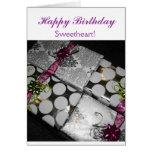 Sweet Lady Greeting Card