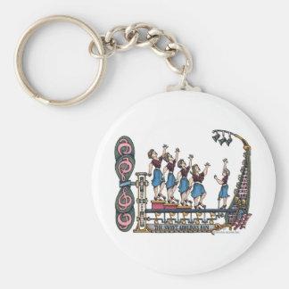 Sweet Lady Singers Basic Round Button Keychain