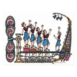 Sweet Lady Singers Postcard