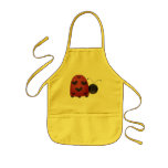 Sweet Ladybug Kids' Apron