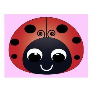 Sweet Ladybug Postcard